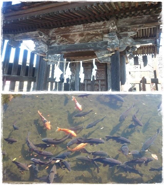 人丸神社境内社:八坂神社・湧水池