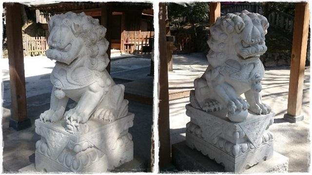 唐沢山神社狛犬