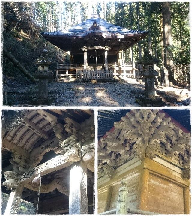 賀蘇山神社・遙拝殿