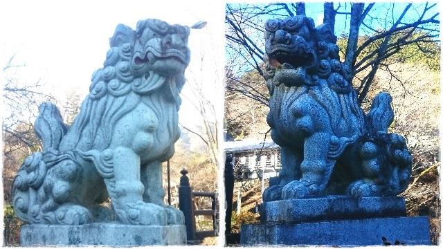 古峯神社・狛犬2