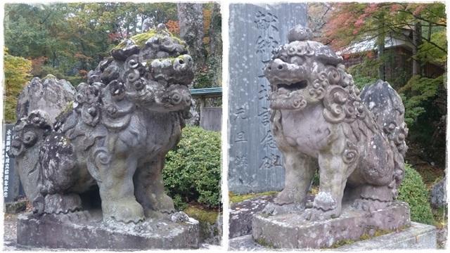 古峯神社・狛犬4