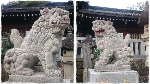 今宮神社・狛犬1