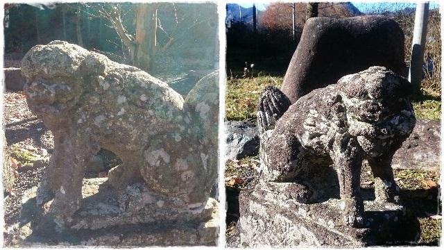 大葦神社・狛犬1