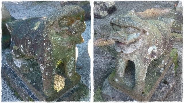 大葦神社・狛犬2
