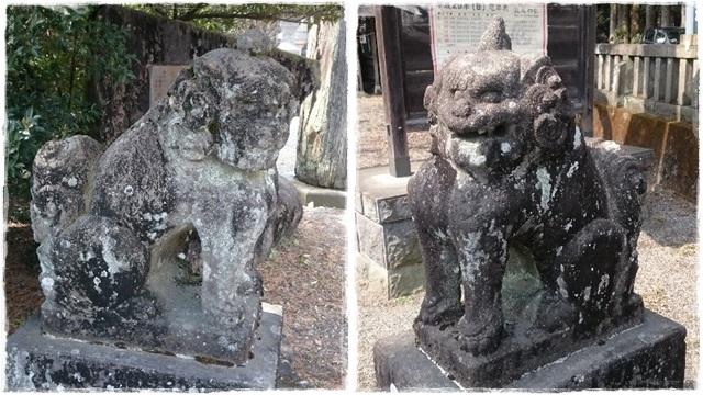 瀧尾神社狛犬1