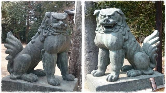 瀧尾神社狛犬3