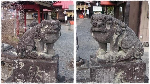 森友瀧尾神社・狛犬