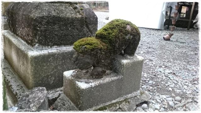 高靇神社狛犬3