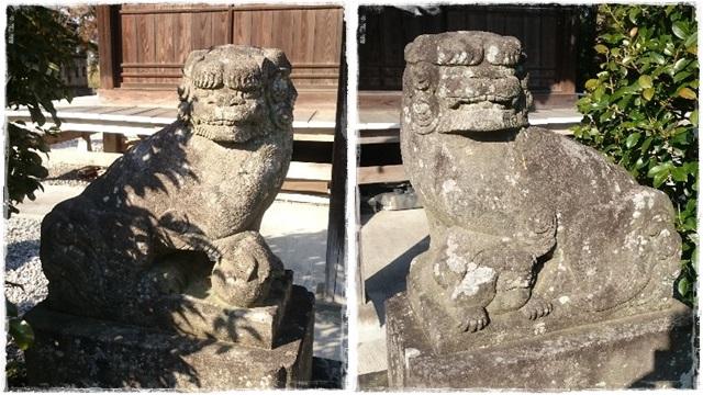 網戸神社狛犬2