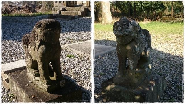 網戸神社狛犬3