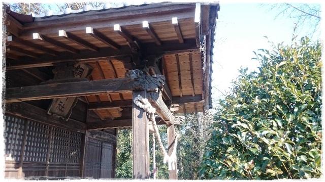 網戸神社拝殿