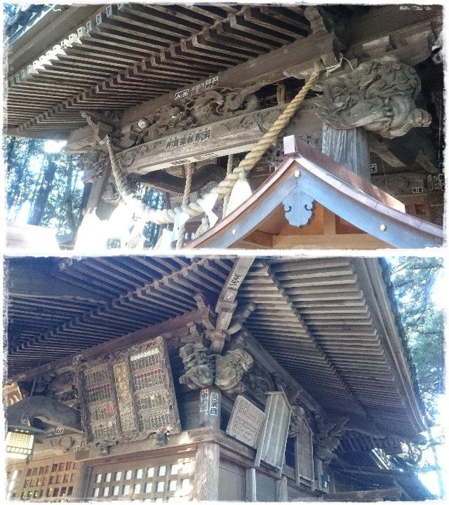 間々田八幡宮拝殿