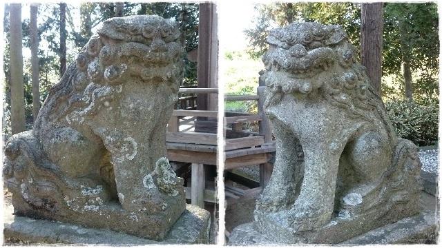 胸形神社・狛犬2