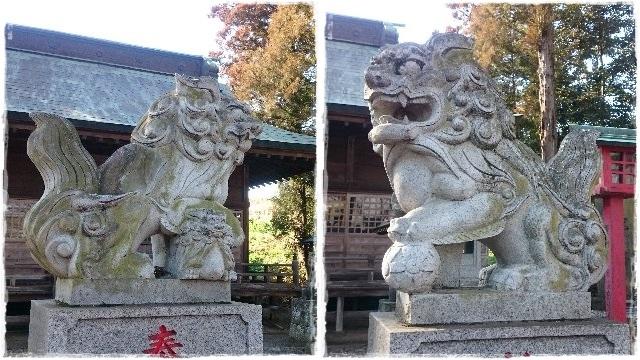 胸形神社・狛犬1