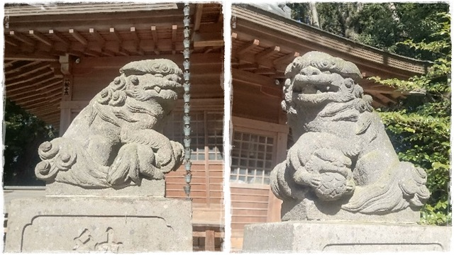 高椅神社・狛犬