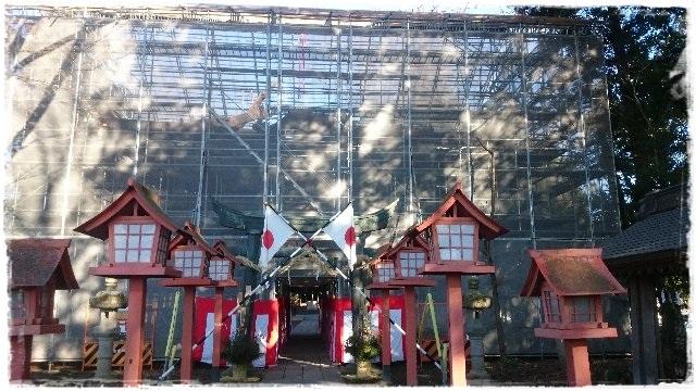 高椅神社・楼門