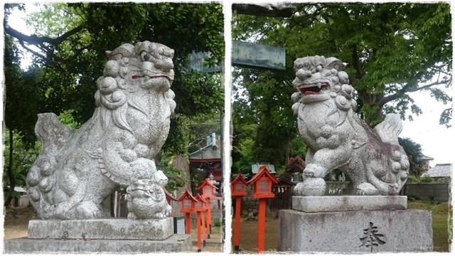 長沼八幡宮狛犬