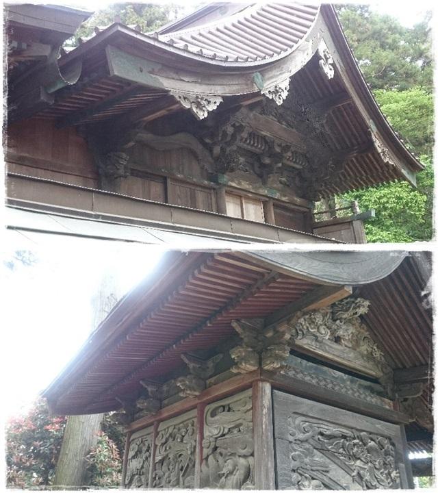 長沼八幡宮本殿・境内社