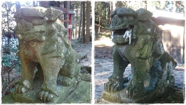 大宮温泉神社・狛犬2