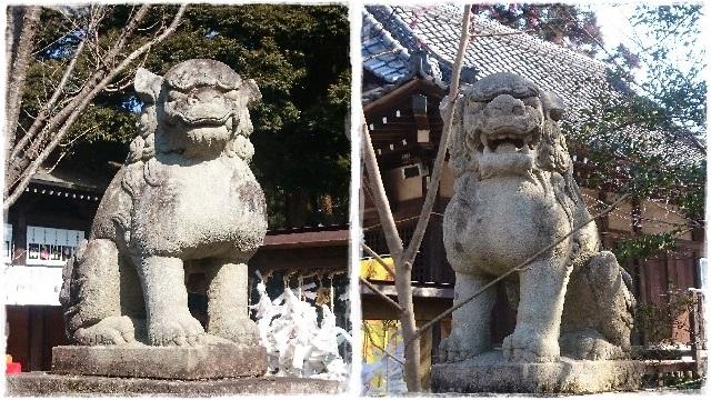 大前神社・狛犬