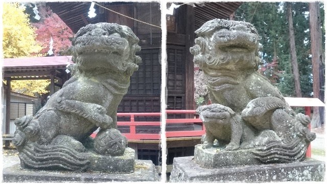 木幡神社・狛犬