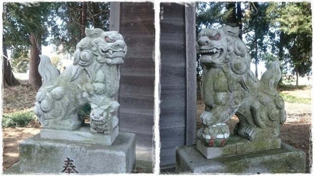 孝謙天皇神社・狛犬