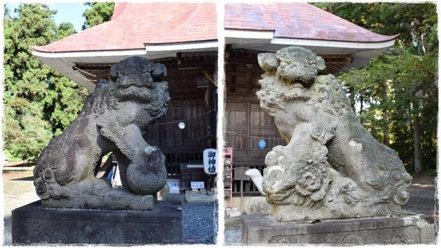 亀岡八幡宮・狛犬