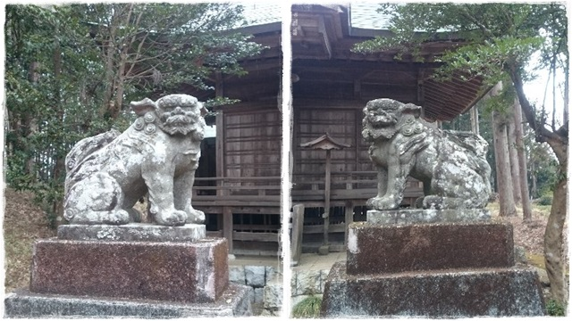 荒橿神社・狛犬