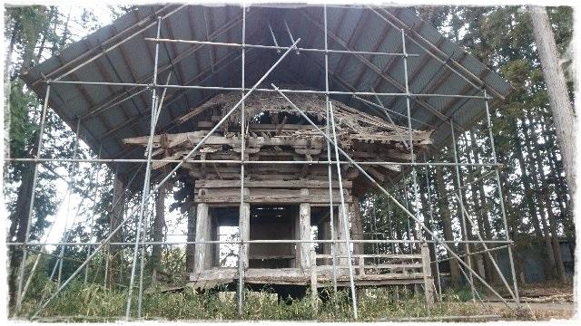 荒橿神社・三重塔