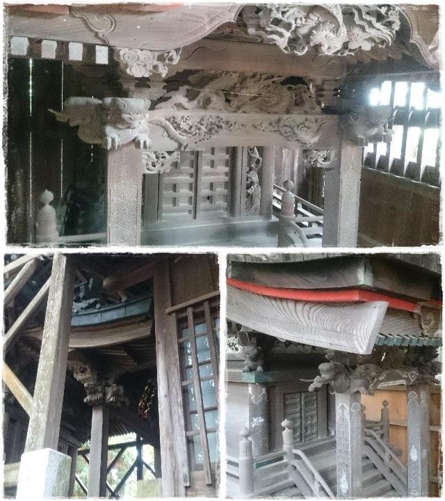 八雲神社・木鼻狛犬