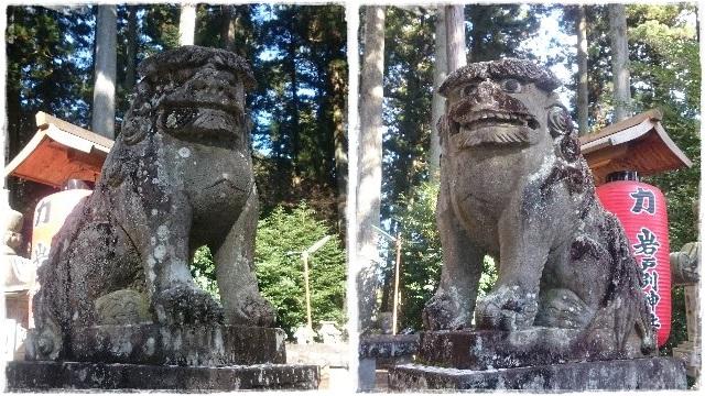 岩戸別神社・狛犬