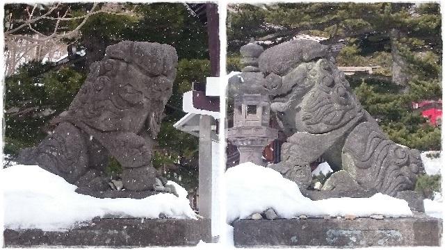 那須温泉神社・狛犬