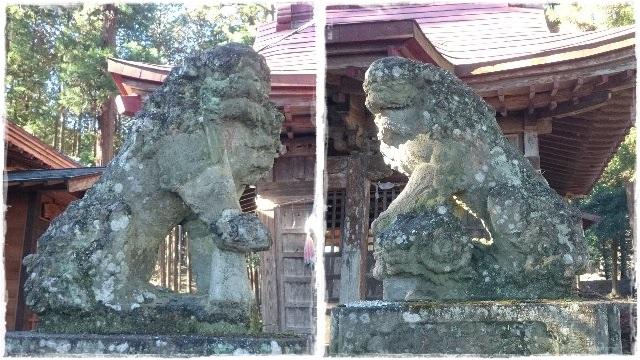 三和神社・狛犬