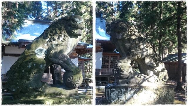 健武山神社・狛犬