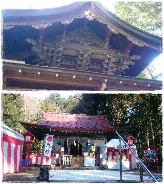 鷲子山上神社・本殿・本宮