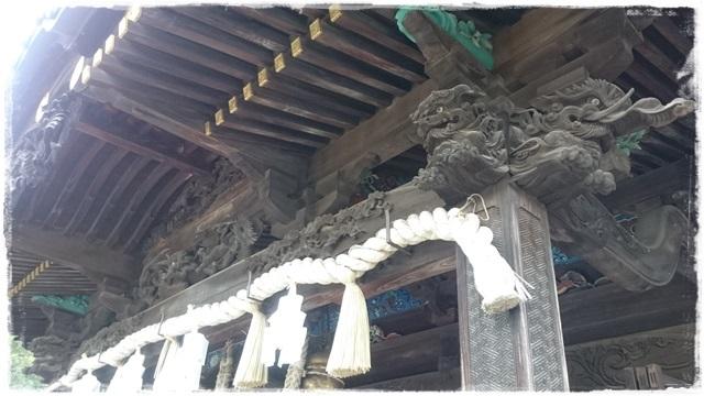 雷電神社・拝殿