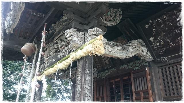 高鳥天満宮・拝殿