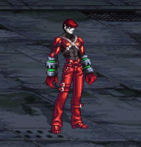 赤コーデ1