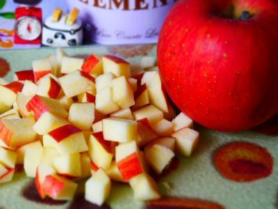 りんご 角切り