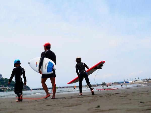 サーフィン3匹