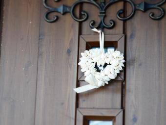 ハート ドア飾り