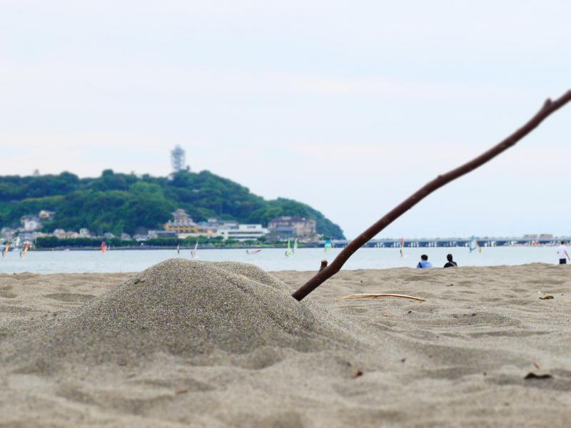 浜辺の砂山