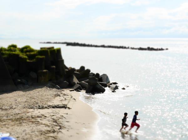 笹浜 ダイブ