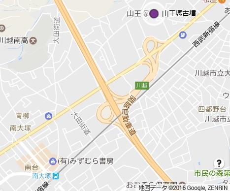 山王塚古墳地図