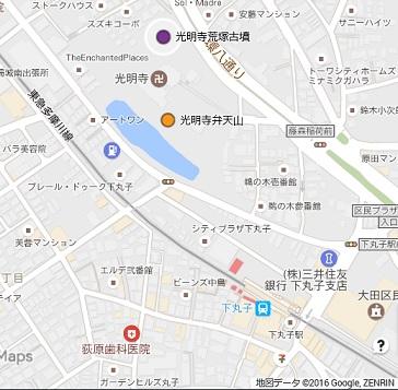 光明寺荒塚地図