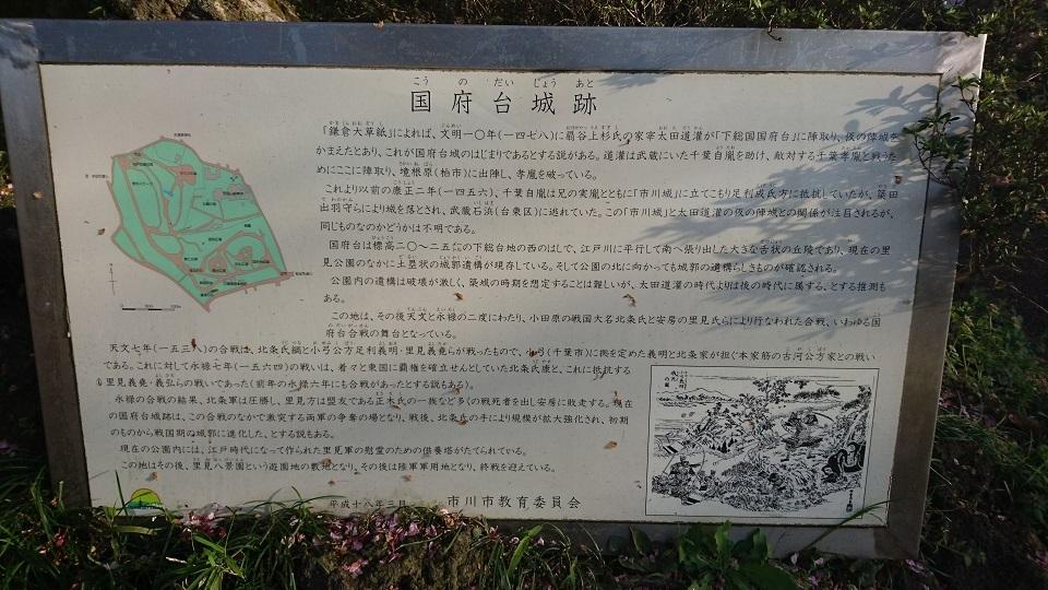 国府台城跡
