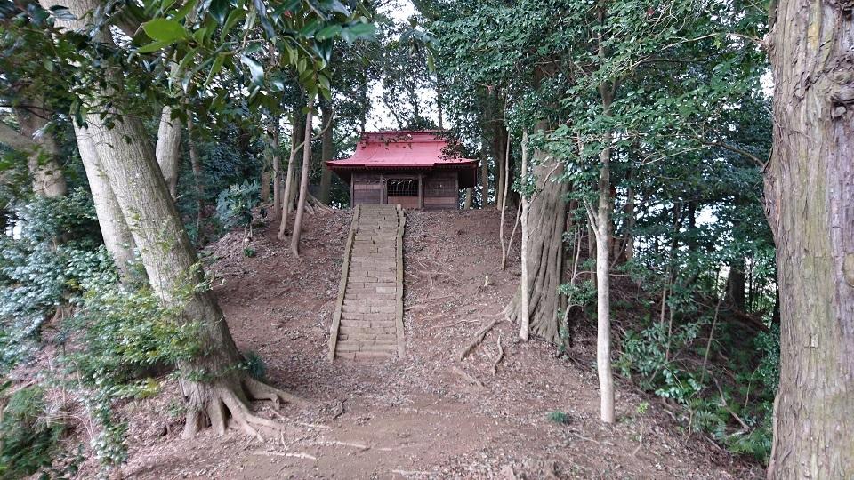 熊野古墳 後円部を望む
