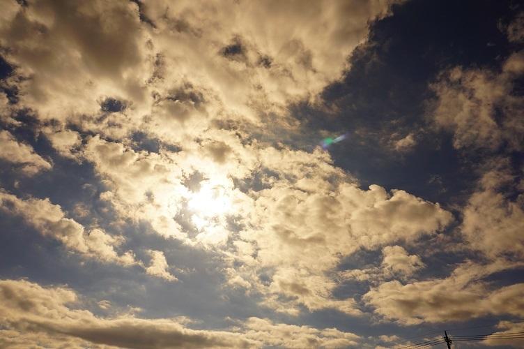 北浦上空の空
