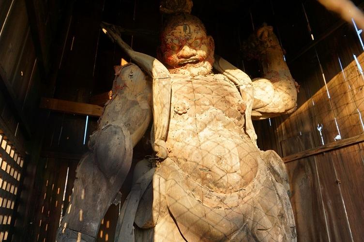 東福寺山門仁王像