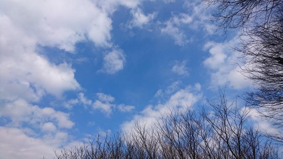 小宮公園近くの青空